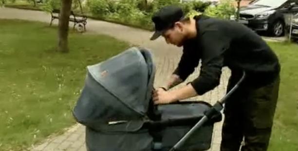 A világ legboldogabb apukája – VIDEÓ!|Bence születésnapjára kapta kisfiát…